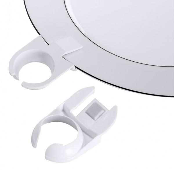 Teller Clip-Glashalter 3,0 cm-Laenge 8,0 cm
