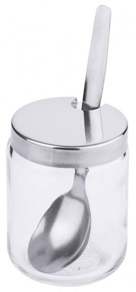 Ersatz Senfglas mit Deckel und