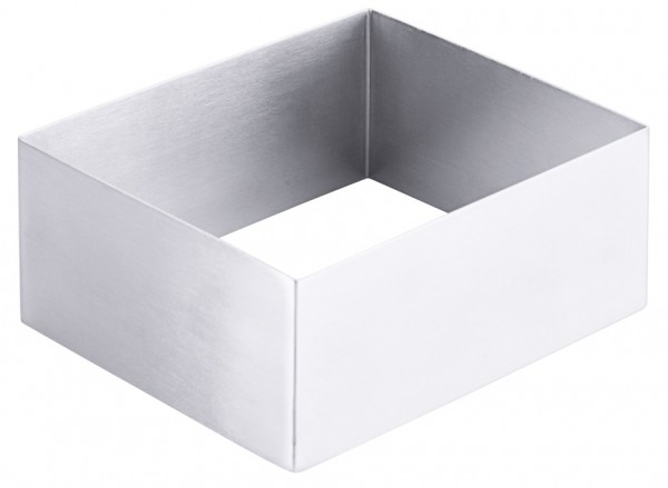 Schaumspeisenform - Fläche 10,0 x 12,0 cm - Höhe 5,0 cm