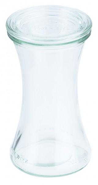Weck® Delikatessenglas 200 ml 6,0 cm-Hoehe 12,5 cm-6 Stk.
