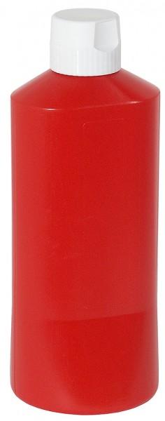 Quetschflasche 0,6 l, rot