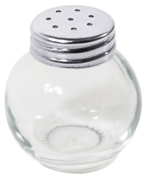 Salzstreuer-Pfefferstreuer-Ministreuer Glas 3,5 cm-Hoehe 4,0 cm