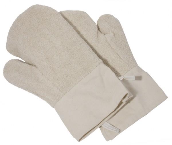 Paar Backhandschuhe-Laenge 30 cm-Breite 15 cm