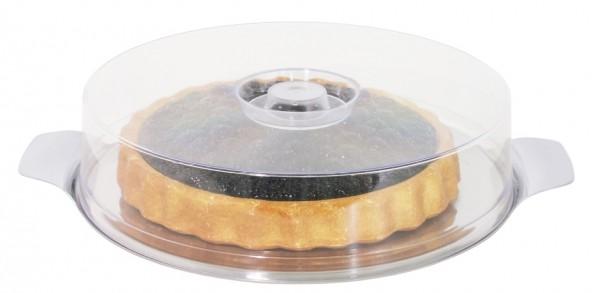 Runde Platte mit Haube 30 cm