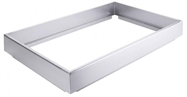 Edelstahlrahmen-GN-Laenge 53,0 cm-Breite 32,5 cm-Hoehe 7,0 cm