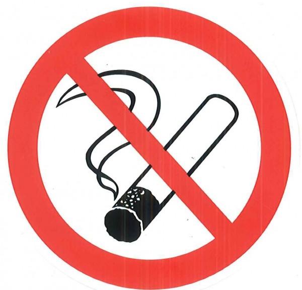 Nichtraucher-Aufkleber 8 cm