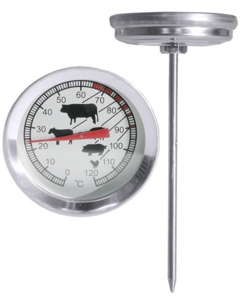 Bratenthermometer Masse Laenge 11,0 cm oben 5,0 cm