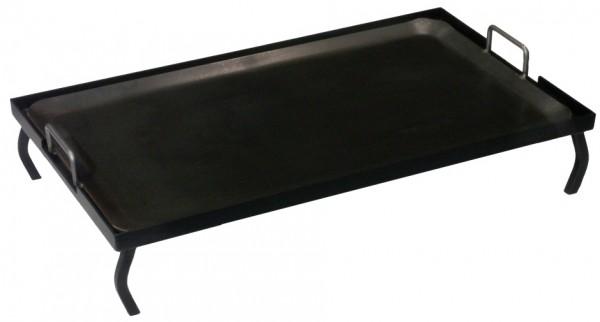 Schwere Eisenplatte 70 x 41 cm