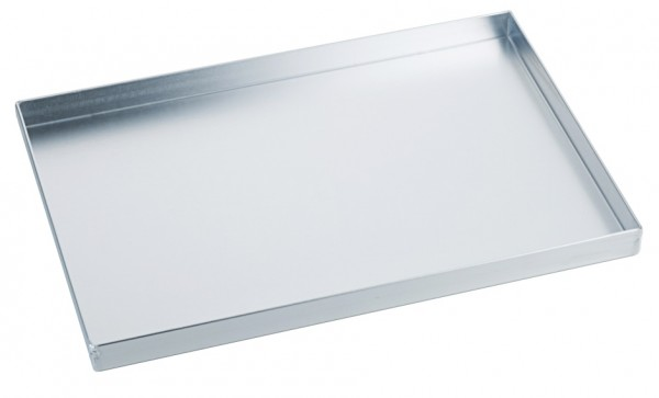 Backwaren Auslageblech - Maße 30,0 x 20,0 cm - Aluminium - Höhe 2,0 cm