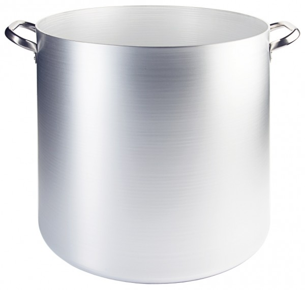 Bouillonkessel Aluminium-50,0 cm-Hoehe 50,0 cm-Volumen 85 Liter