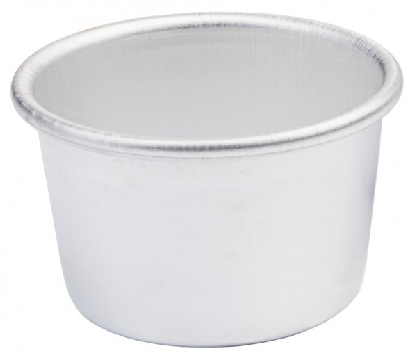 Dariol-Becherfoermchen Alu Boden 4,0 cm-Hoehe 3,2 cm-Volumen 60 ml