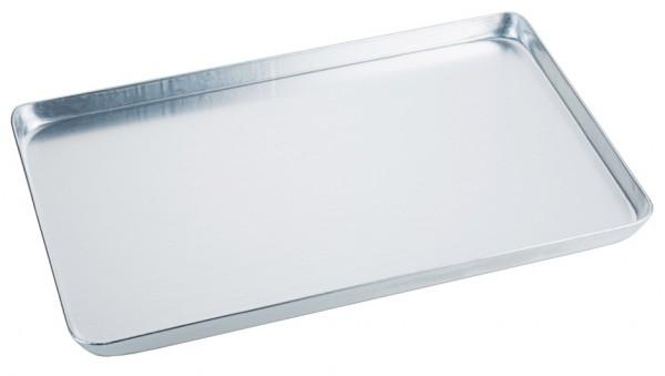 Backwaren Auslageblech-Masse 40,0 x 25,0 cm-Aluminium-Hoehe 2,0 cm