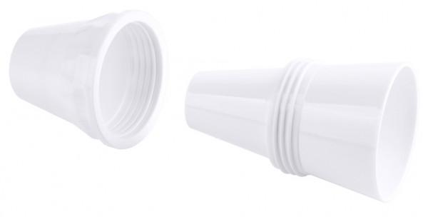 Spritztuellenadapter-Hoehe 7,5 cm-Durchlauf 1,9 cm-max. 4,5 cm