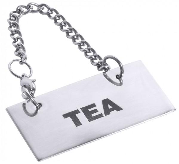Schild fuer Kannen: TEA