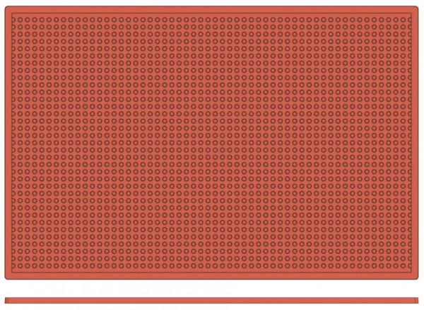 Backreliefplatten-Kugeln-Laenge 60,0 cm-Breite 40,0 cm