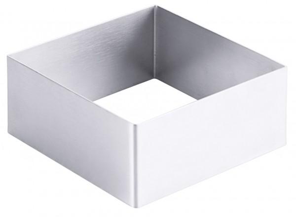 Schaumspeisenform - Fläche 10,0 x 10,0 cm - Höhe 4,5cm