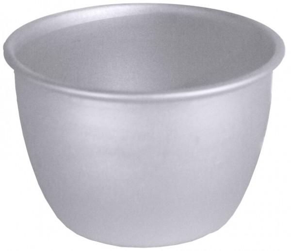 Pudding-Becherfoermchen, Alu Boden 4,5 cm-innen 6,5 cm-Volumen 100 ml