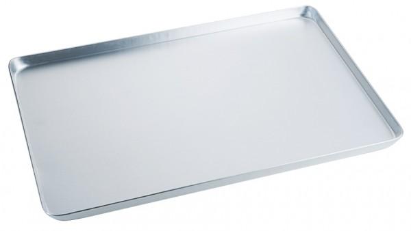 Backwaren Auslageblech-Masse 48,0 x 32,0 cm-Aluminium-Hoehe 2,0 cm