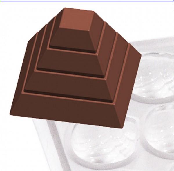 Pralinenform Pyramide