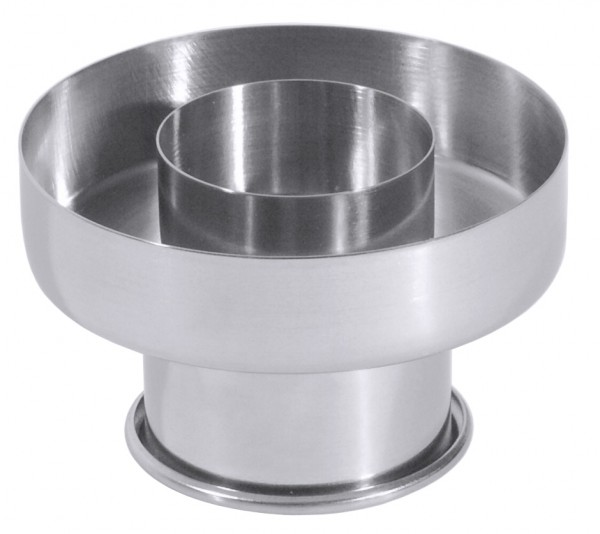 Donut - Ausstecher - Ø aussen 8,0 cm - innen Ø 4,0 cm - Höhe gesamt 5,0 cm
