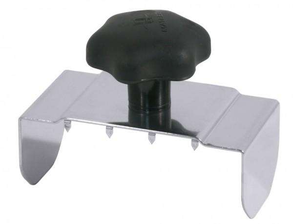 Restehalter fuer Gemuesehobel-Laenge 6,0 cm-Breite 12,0 cm