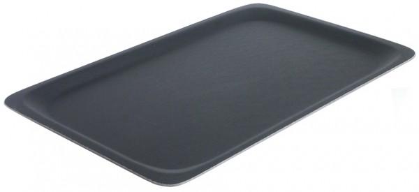Tablett GN 1/1-Laenge 53,0 cm-Breite 32,5 cm-Hoehe 1,6 cm-schwarz