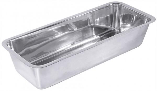 Back- und Pastetenform - Maße 25,0 x 10,0 cm - Höhe 7,0 cm - 1,0 Liter