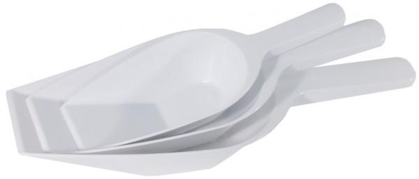 Handschaufel-Masse 19,0 x 10,0 cm-Laenge 31,0 cm-Portionsgroesse 0,50 Liter