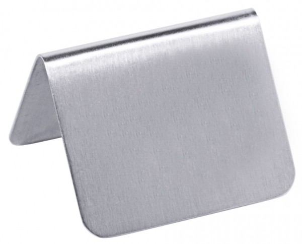 Schild, seidenmatt 53x34 mm