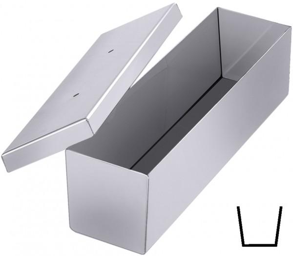 Pastetenform-Brotkastenform-Masse 30,0 x 8,0 cm-Hoehe 7,0 cm