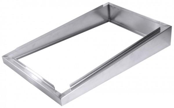 Edelstahlrahmen - GN 1-1 - Höhe 4,50 cm - 10,0 cm
