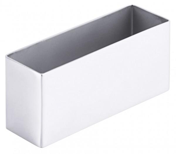 Schaumspeisenform - Fläche 3,0 x 10,0 cm - Höhe 4,5 cm