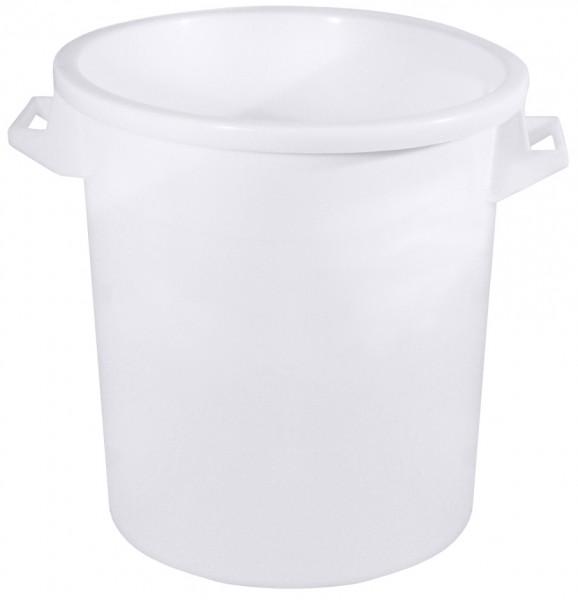 Kunststofftonne 50,0 Liter innen 40,0 cm-Hoehe 47,0 cm