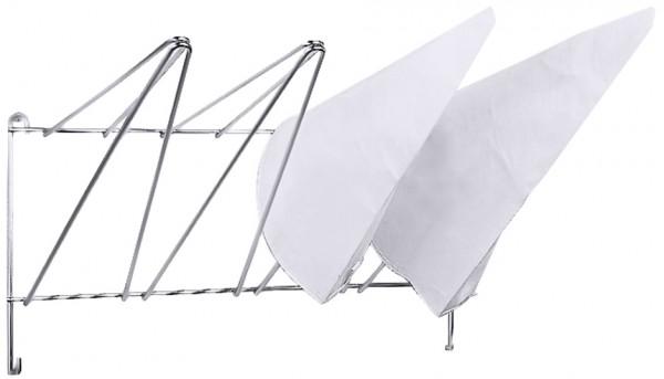 Spritzbeutelaufhänger, Breite 50,0 cm - Höhe 26,0 cm