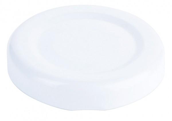 Deckel zu Marmeladenglas, weiss
