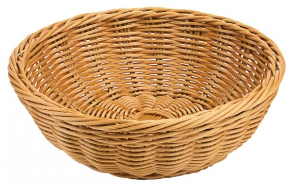 Polykorb, rund 21 cm, braun