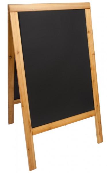 Doppeltafel 120 cm, teak