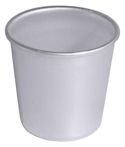 Dariol-Becherfoermchen Alu Boden 4,5 cm innen 5,5 cm-Volumen 120 ml