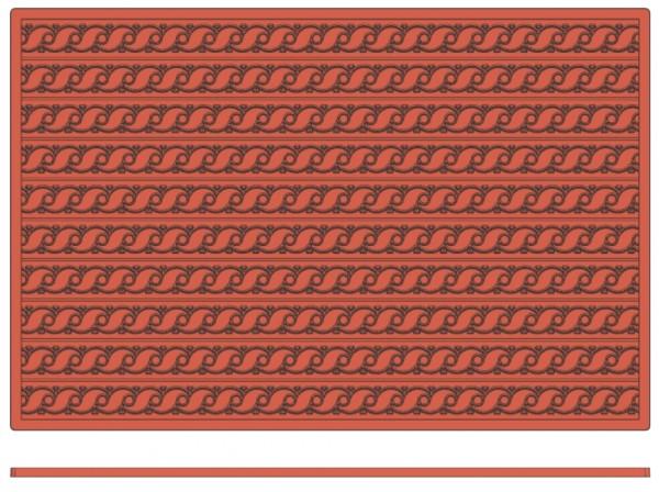 Backreliefplatten-Wellen-Laenge 60,0 cm-Breite 40,0 cm