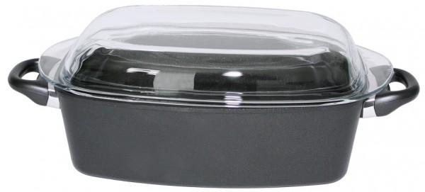 Braeter-Aluminiumguss-Laenge 33 cm-Breite 21 cm-Hoehe 11 cm-Volumen 4,0 Liter