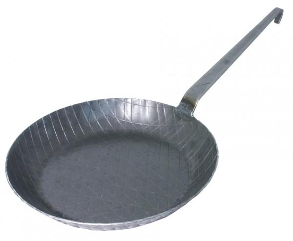 Brat- und Servier- Eisenpfanne 28 cm mit Stiel