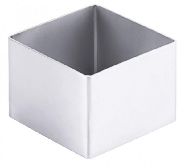 Schaumspeisenform - Fläche 6,0 x 6,0 cm - Höhe 4,5 cm