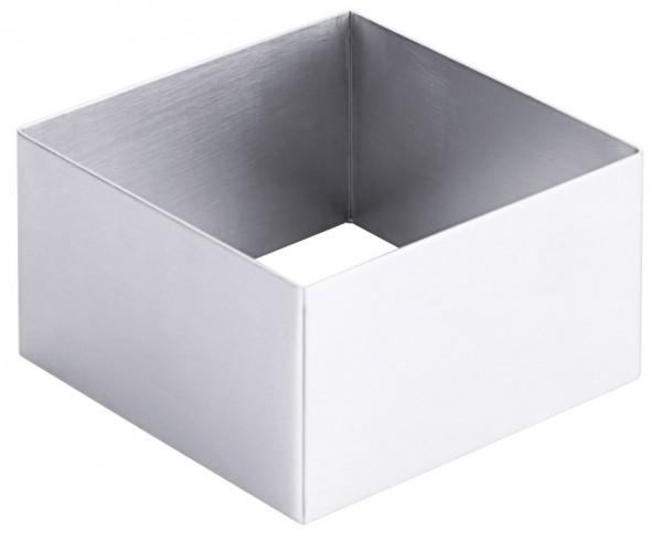 Schaumspeisenform-Flaeche 8,0 x 8,0 cm-Hoehe 4,0 cm