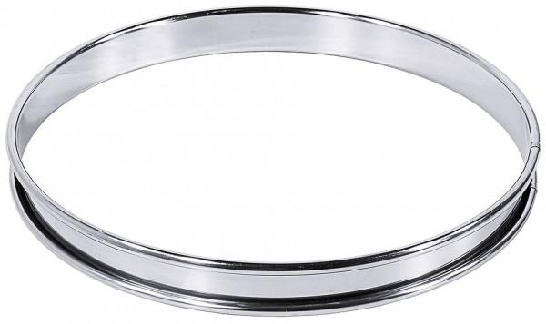 Tortenbodenring, flach 8 cm