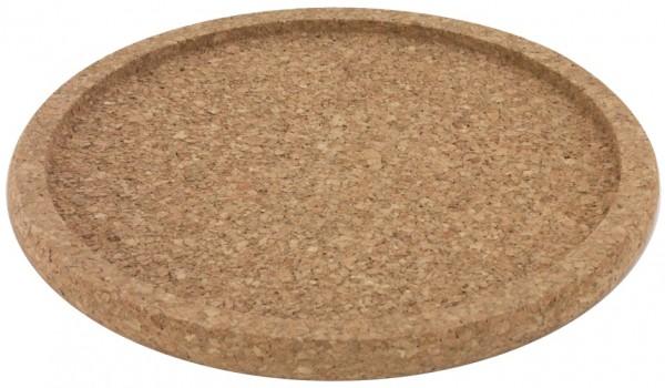 Korkuntersetzer mit Rand innen 21,5 cm-aussen 24,0 cm