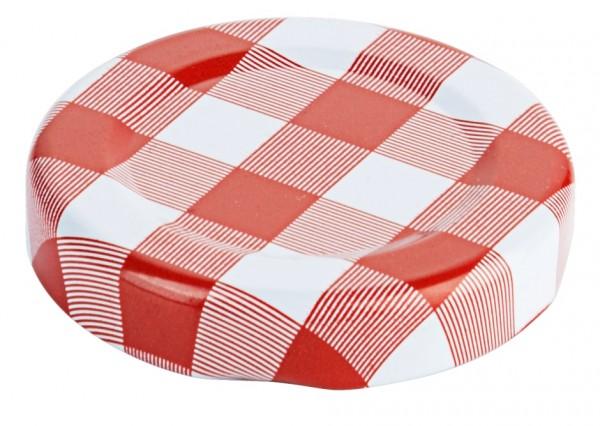 Deckel zu Marmeladenglas, rot