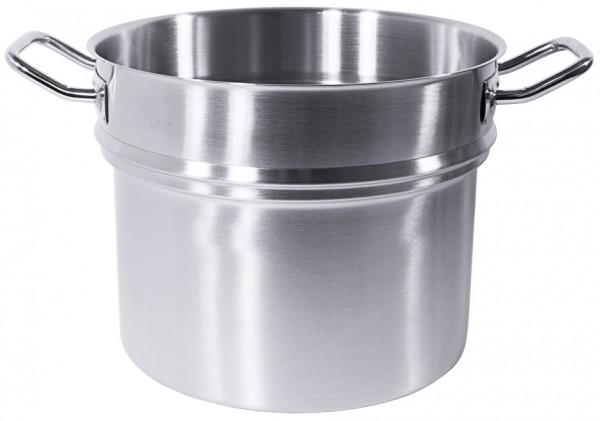 Wasserbadeinsatz fuer Kochtoepfe 28 cm-13,5 Liter-Hoehe 22,5 cm