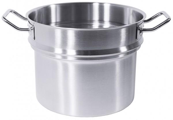 Wasserbadeinsatz fuer Kochtoepfe 24 cm-8,5 Liter-Hoehe 19,0 cm