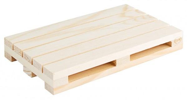 Holzpalette 15 x 9 cm, natur