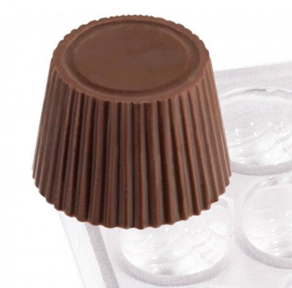 Pralinenform Kegelstumpf Ø 23,0 mm - Höhe 16,0 mm - Formen 21